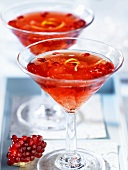 Pomegranate cosmopolitan