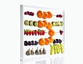 Abakus mit Früchten
