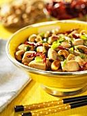 Chicken ragout with cashew nuts