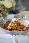 Oven-roasted root vegetables (a side dish for Christmas dinner)