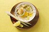 Lemongrass and ginger butter