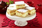 Cream slices