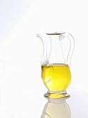 A jug of olive oil