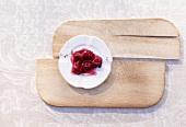 Cranberrykompott