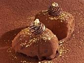 Chocolate-coated dates