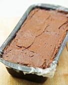 Chocolate and prune terrine