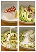 Avocadosuppe zubereiten