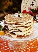 Pancakes mit Lemoncurd