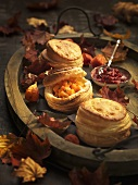 Small pumpkin pies