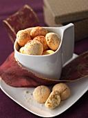 Amaretti (almond biscuits), Piedmont, Italy
