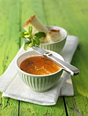 Gooseberry and mint jelly