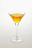 Stinger (Cocktail made with cognac and peppermint liqueur)