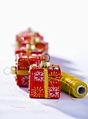 Christmas parcels (tree ornaments)
