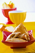 Apple and cinnamon turnovers
