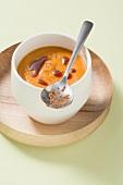 Autumnal pumpkin soup