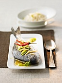 Canton-style steamed bream