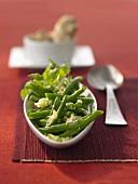 Bohnen auf Sichuan-Art mit Ingwer & Knoblauch