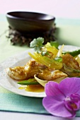 Stir-fried fish curry