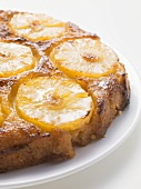 Pineapple upside-down cake (detail)