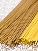 Spaghetti and wholemeal spaghetti