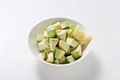 Avocado, peeled and diced