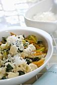 Menietti con le verdure (Dumplings with vegetables, Italy)