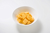 Mango, peeled and diced