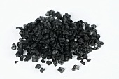 Black Hawaiian sea salt (Black lava) with 1-2% activated charcoal
