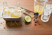 Tropical Sunrise (alkoholfreier Drink aus Fruchtsäften)