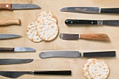 Knives and crackers