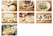 Tortelloni alle patate e speck zubereiten