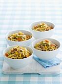 Chow Mein (Gebratene Nudeln, China) mit Fleisch & Gemüse