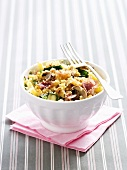 Macaroni and Cheese mit Gemüse