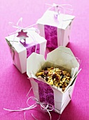 Granola to give as a gift