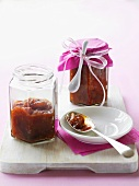 Tomato chutney to give as a gift