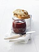 Acaibeeren-Erdbeer-Marmelade