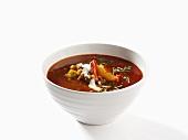 Älgfärssoppa (Thick elk soup, Sweden)