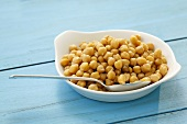 Cooked chick-peas