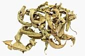 Dried verbena leaves