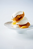 Marshmallows with candied orange peel