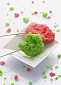 Molecular gastronomy: dessert lollies