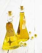 Rocket oil and lime oil