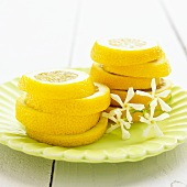 Towers of lemon slices