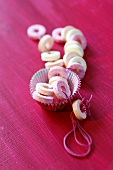 Sweet necklace with muffin cases