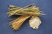 Soya flour and soya noodles