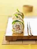 Four date-maki sushi