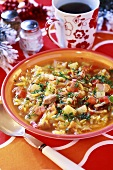 Cabbage soup from Russia (Christmas)