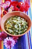 Pineapple salsa (Mexico)