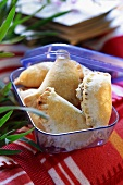 Cheese pasties for a picnic or packed lunch