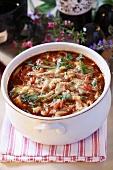 Veal goulash soup